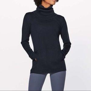 Lululemon Sweat and savasana sweater navy